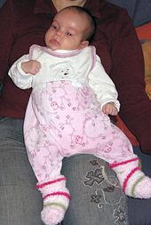 typische C- Haltung bei einem Baby (KISS 1)